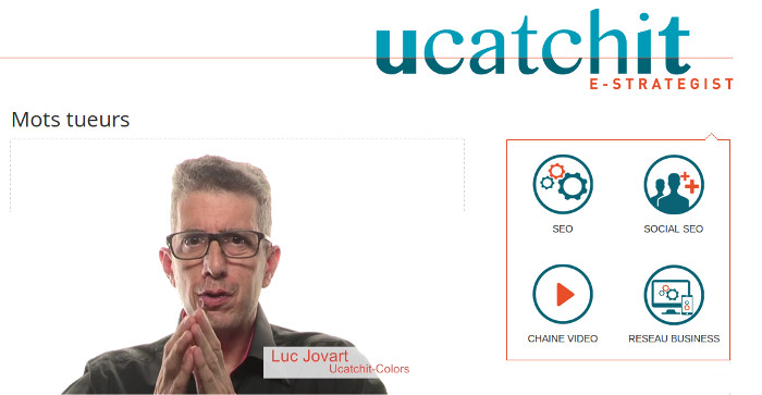 Luc Jovart and Ucatchit video link image